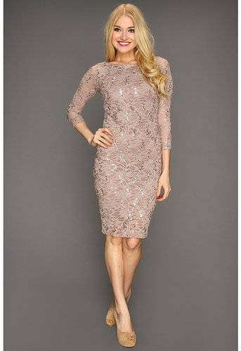 rsvp - Lornah Dress (Taupe) - Apparel