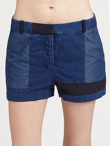 Acne Patchwork Shorts