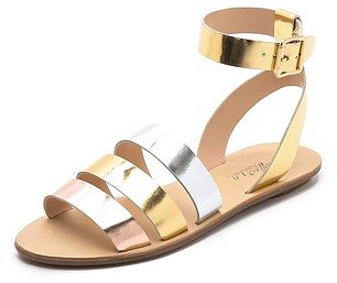 Loeffler randall Simona Mirror Band Sandals