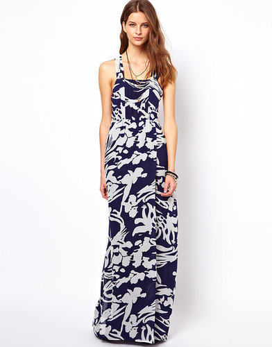 Winter Kate Silk Chiffon Pyar Maxi Dress