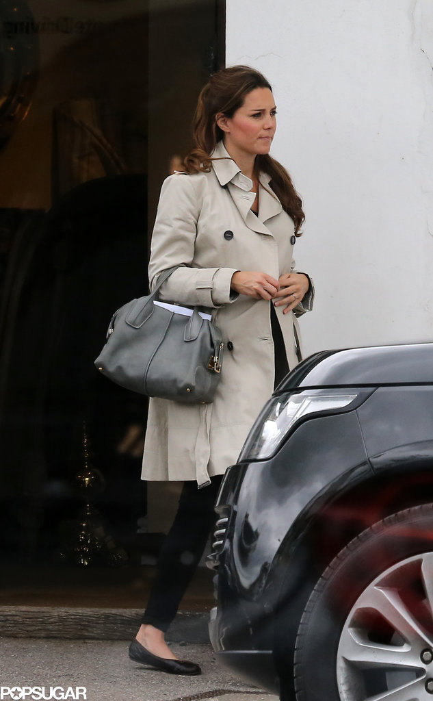 Kate Middleton visited a shop in Hungerford.