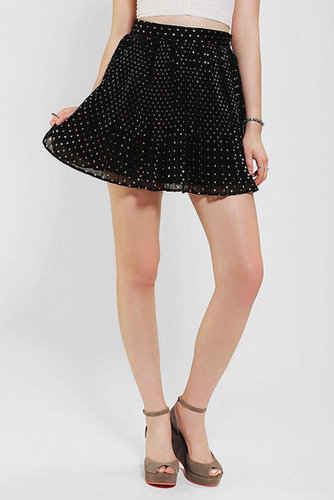 Pins And Needles Baby-Pleated Mini Skirt