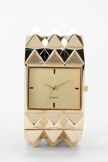 Pyramid Studded Watch