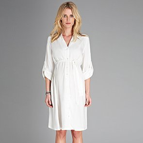 How to Style a Maternity Shirtdress