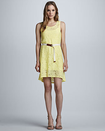 PJK Carlyle Sleeveless Lace Dress