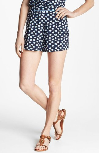 Two by Vince Camuto Floral Pleated Shorts
