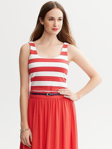 Wide Striped Tank