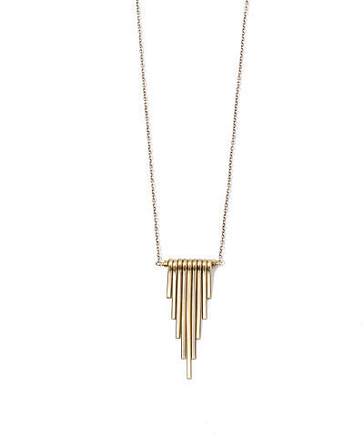 Garnett Jewelry Obelisk Necklace