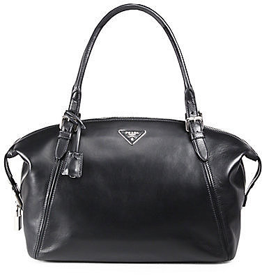 Prada Saffiano Lux Small Tote Bag