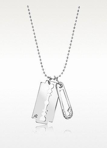 McQ Alexander McQueen Razor Pendant Necklace