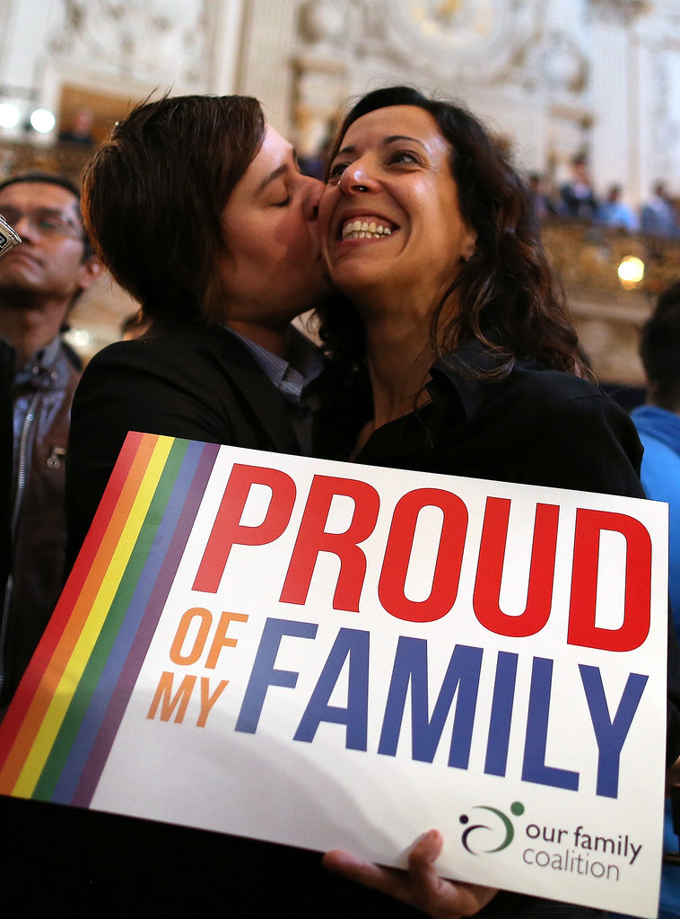 SF families celebrated on Wednesday.