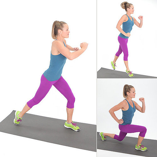 Plyometrics: Jumping Lunges