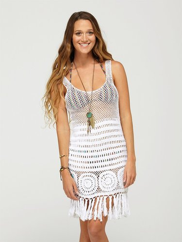 Boho Bliss Swim Coverup Dress