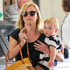 Reese Witherspoon With Baby Tenessee Toth