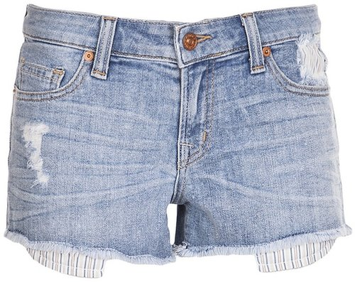 Raven Denim Logan cut off short