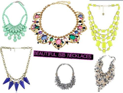 Beautiful Bib Necklaces