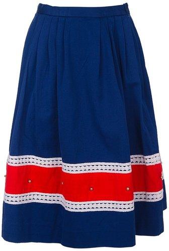 Copla Milano Vintage striped skirt