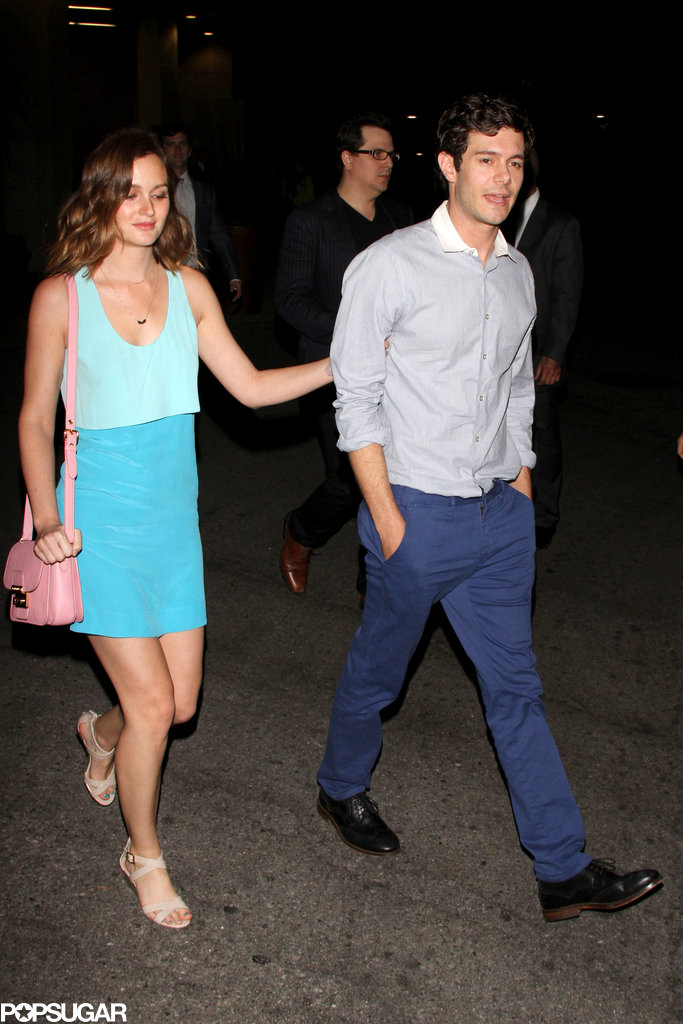 Adam Brody and Leighton Meester made their first official appearance as a couple for the afterparty of his Some Girl(s) premiere in LA.