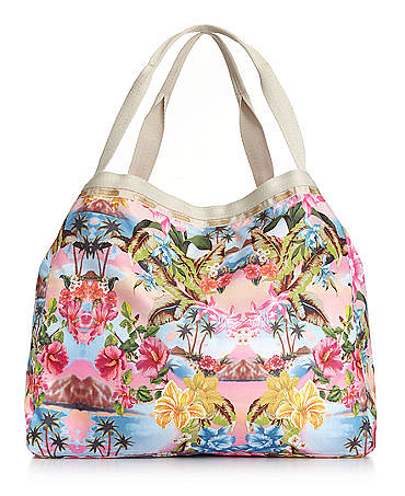 Nothing says Summer like a tropical beach bag, which is why I love this landscape LeSportsac number ($98). The nylon tote is reversible, budget-friendly, and roomy enough to fit all of your beach essentials without weighing you down. — MV