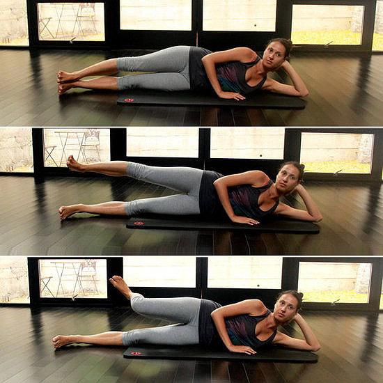 Lower Body: Side Saddle Leg Lift Series