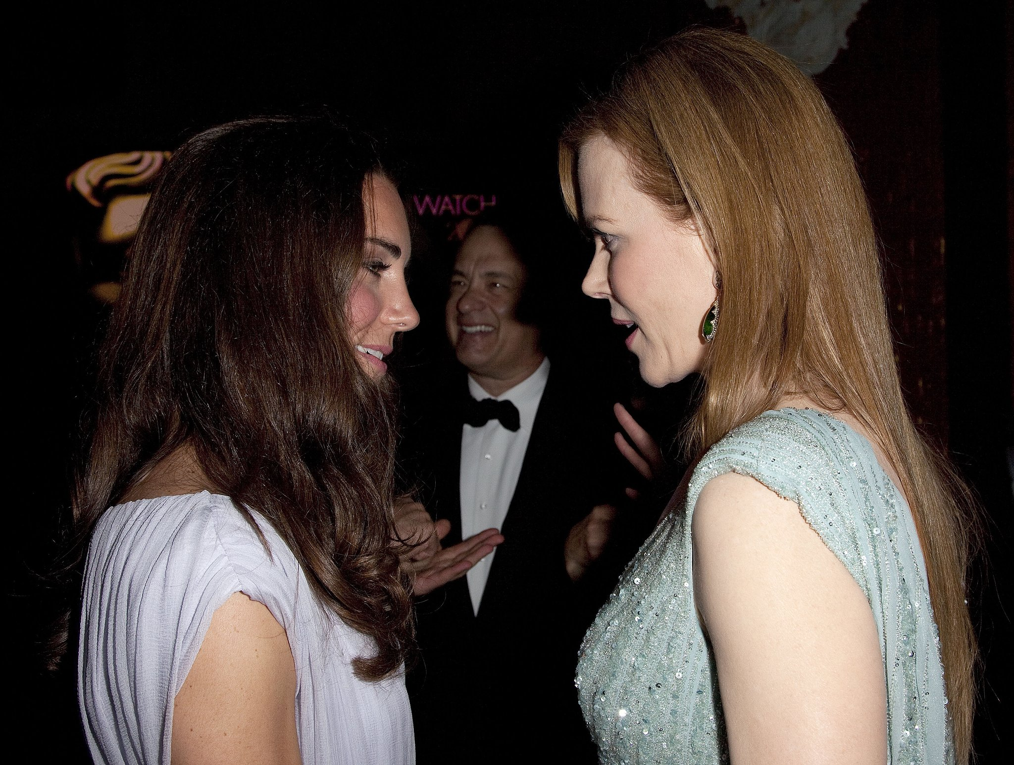 Nicole Kidman and Kate Middleton spoke at the 2011 BAFTA Brits to Watch Event in LA in July 2011.