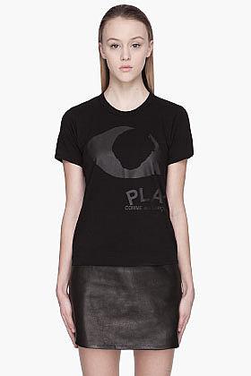 COMME DES GARÇONS PLAY Black Eye Emblem T-Shirt