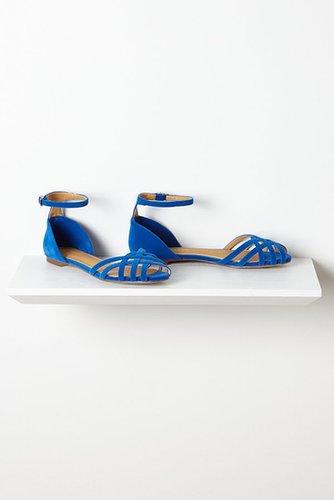Velvet Weave Sandals