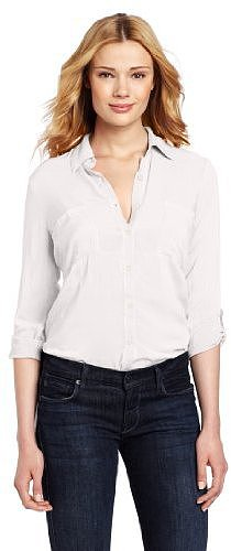 Splendid Women's Double Pocket Shirt