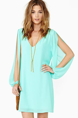 Talia Dress - Mint