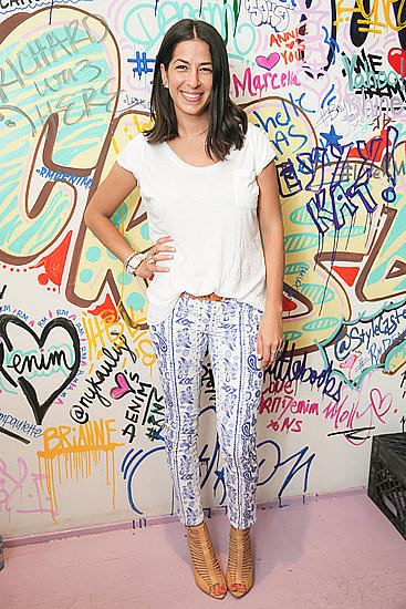 We caught up with designer Rebecca Minkoff at an event in NYC. She dished all about her new denim collection and more.