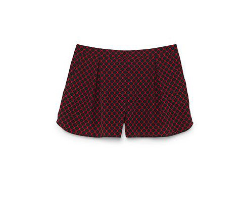 I have two loves in life: prints and color. Club Monaco's silk shorts ($90) packs both into a single statement pair! — RM