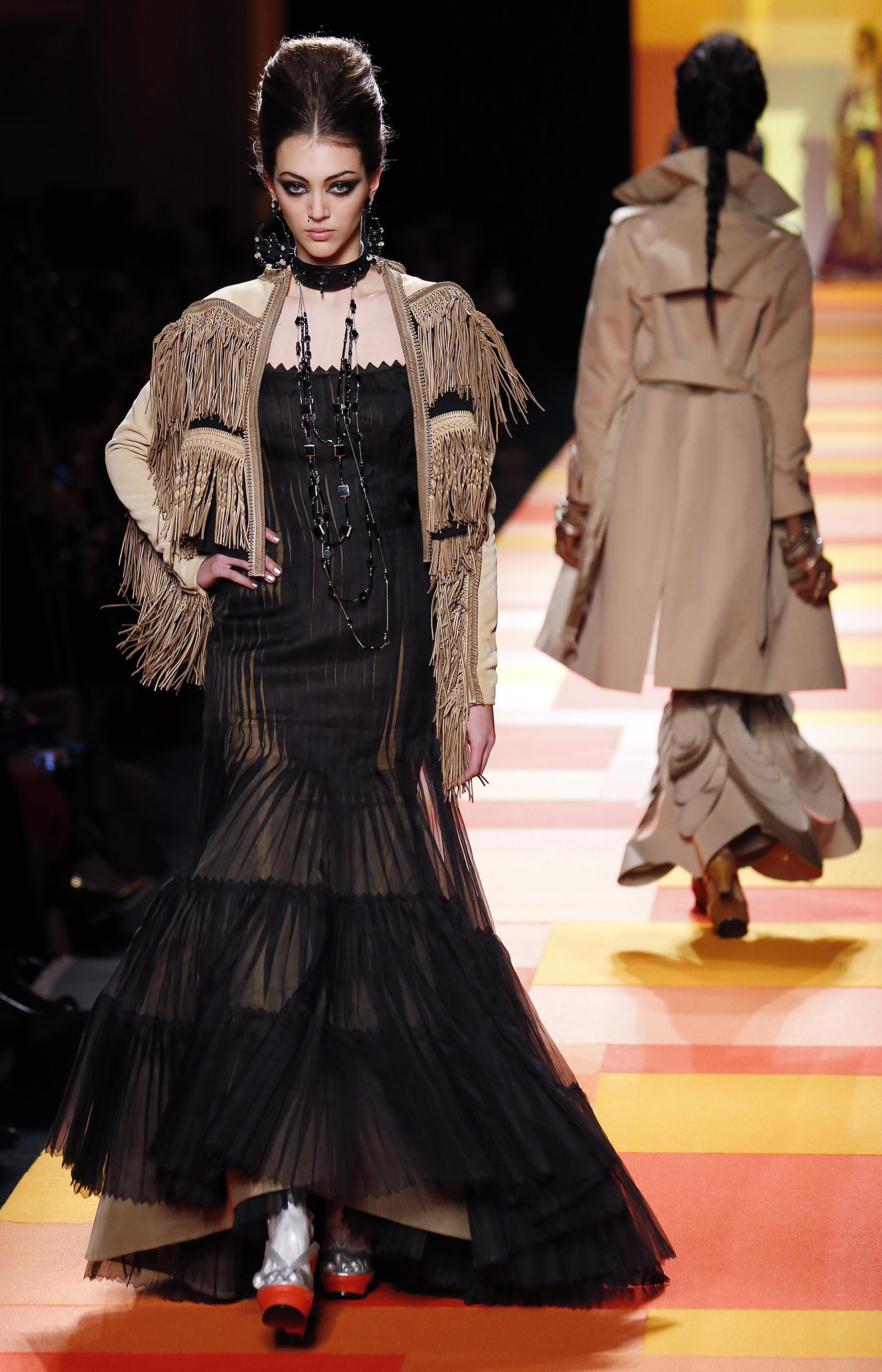 Pleating at Jean Paul Gaultier