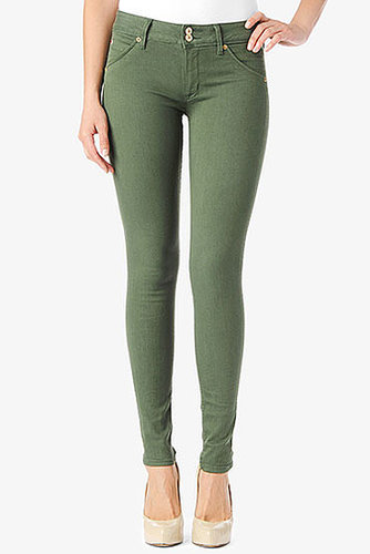 Collin Mid-Rise Skinny- Forest