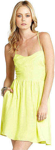 BCBGENERATION Back Cutout Zipper Dress