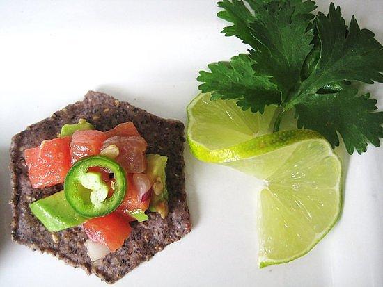 Watermelon Tuna Ceviche