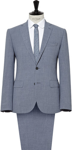 Rushby THREE BUTTON NOTCH LAPEL LINEN  SUIT