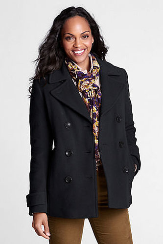 Women's Regular Luxe Wool Insulated Pea Coat