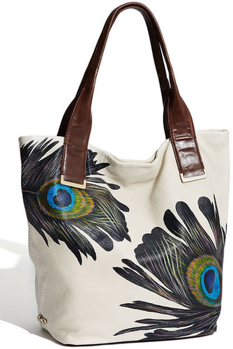 Elliott Lucca 'Intreccio' Leather Tote, Large