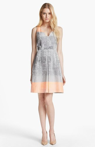 Rachel Roy Taffeta A-Line Dress