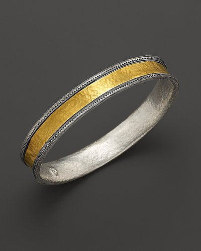 "Gurhan Medium Hammered ""Lancelot"" Bangle"