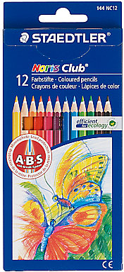 Staedtler Colouring Pencils, Multi, Pack of 12