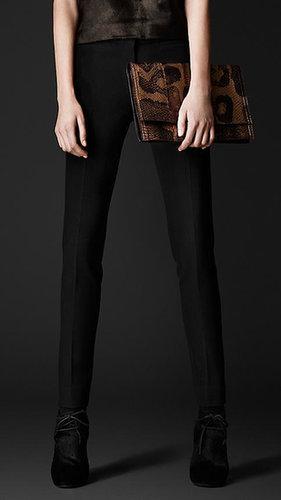 Stretch-Crêpe Dress Trousers