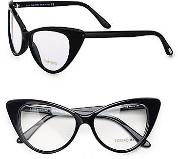 Tom Ford Eyewear Cat's-Eye Plastic Eyeglasses