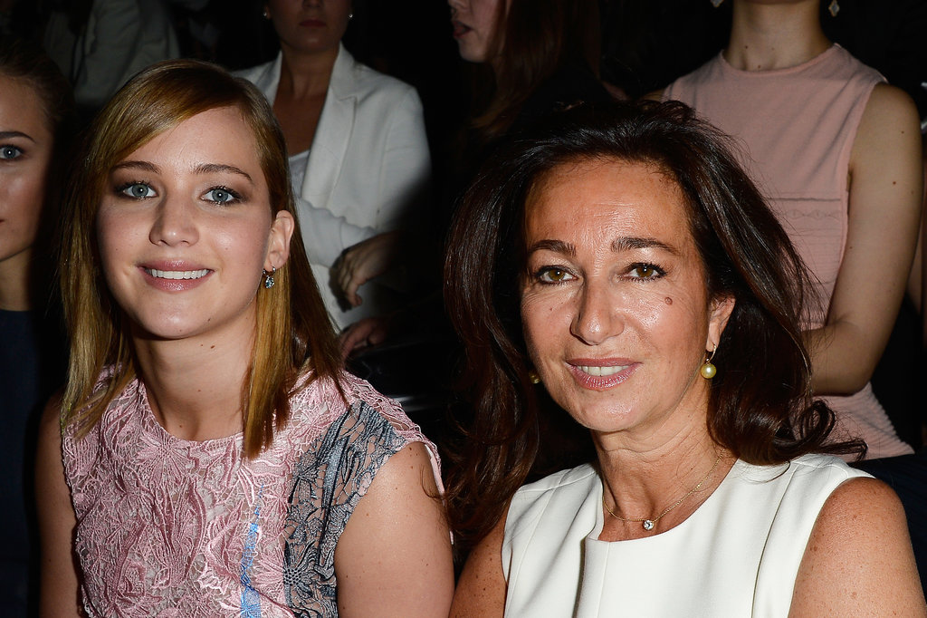 Jennifer Lawrence teamed up with Katia Toledano to attend Dior's show at Paris Haute Couture.