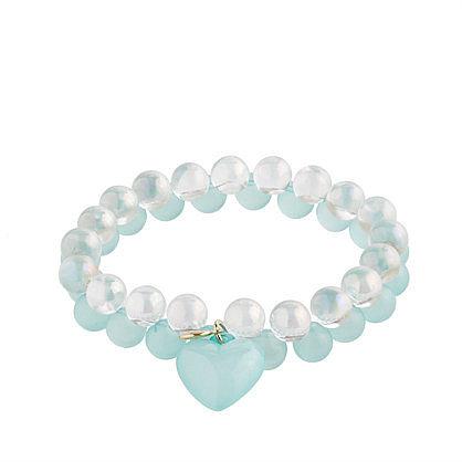 Girls' seaglass & soap bubbles bracelet