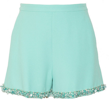 Miu Miu Embellished cady shorts