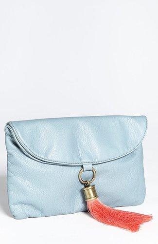 Tulu 'Scarlett' Faux Leather Clutch