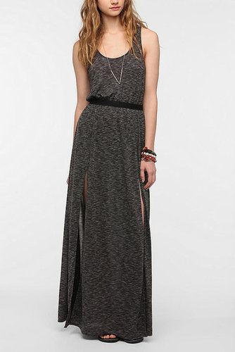 Silence + Noise Double-Slit Maxi Dress