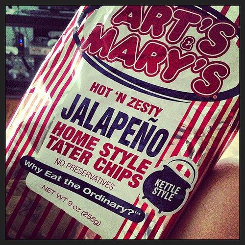 Kansas: Art's and Mary's Potato Chips
