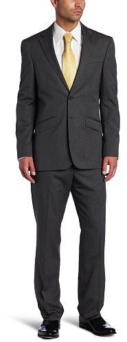 Kenneth Cole Reaction Mens Pin Dot Suit Separate Coat